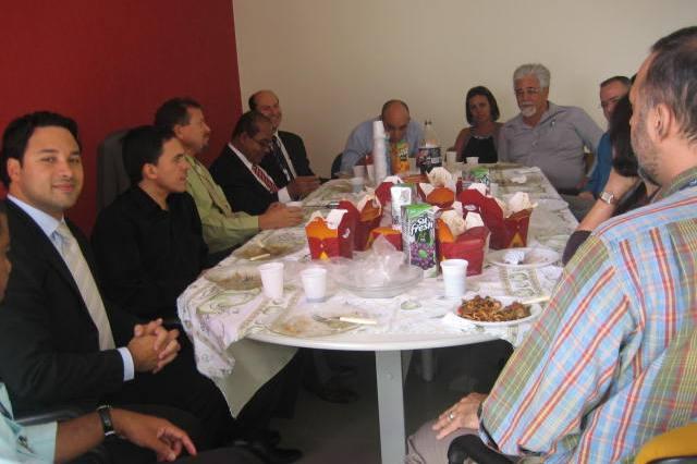 Foto 01 - Almoço com as Associações, dia 04 de março de 2008