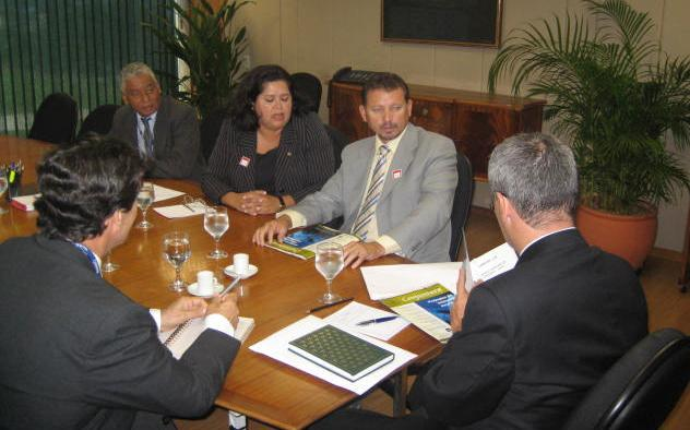 Foto 01: Reunião na Casa Civil