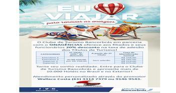 EU AMO VIAJAR - Campanha do Clube de Turismo Bancorbrás