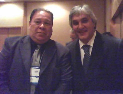 Fotos do Diretor Zenão com o Senador Delcídio Amaral