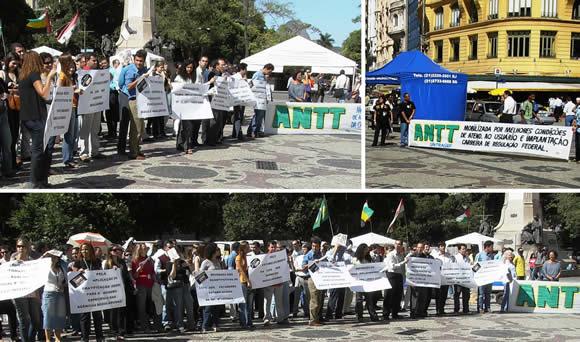 Servidores da ANTT do Rio de Janeiro mobilizados