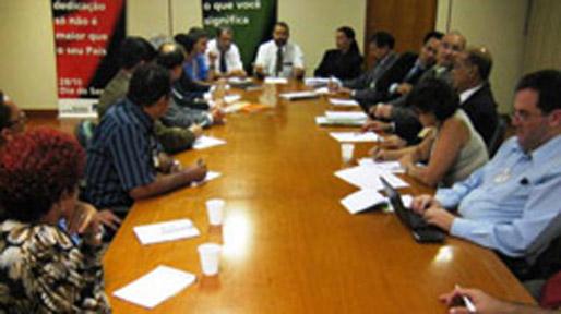 Foto: Reunião com o Governo