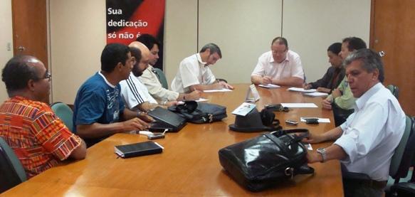 Foto 01: Reunião no MPOG