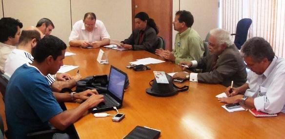 Foto 02: Reunião no MPOG