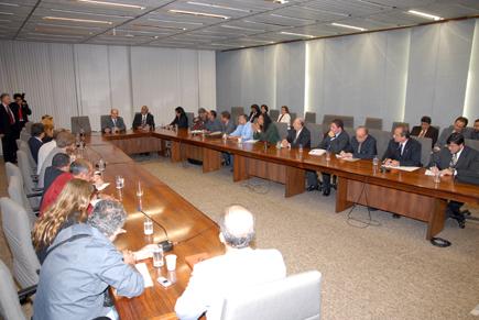 Reunião de sindicalistas com o Ministro do Planejamento