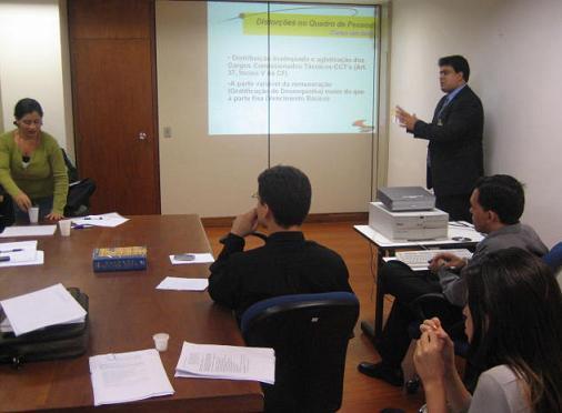 GT-RECAT: Primeira reunião (foto 2)