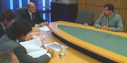 Foto 01: Reunião com o Presidente da Anatel