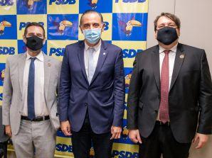 Vice-líder do PSDB na Câmara, deputado Eduardo Cury, realizou agenda com Sinagências